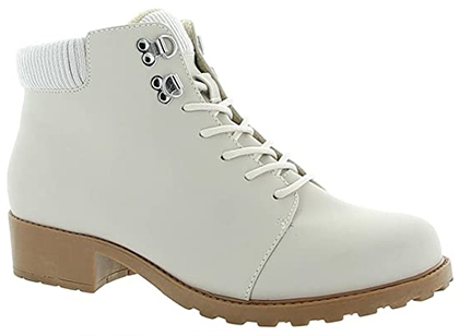 Trotters Lace Up Boots with arch support   40plusstyle.com