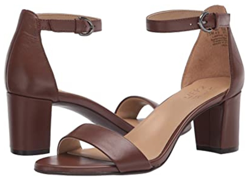 Naturalizer Vera Heeled Sandals | 40plusstyle.com