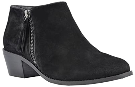 Vionic Joy Serena Ankle Boot with arch support | 40plusstyle.com