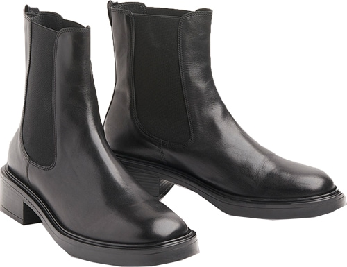 Whistles Rue Elasticated Chelsea Boot   40plusstyle.com
