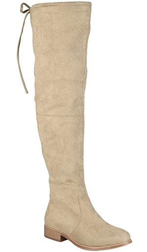 Journee Collection Mount Boot   40plusstyle.com