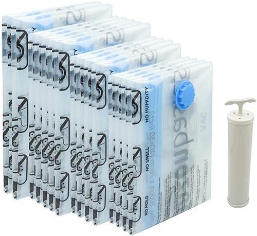 Amazon Basics Vacuum Compression Storage Bags | 40plusstyle.com
