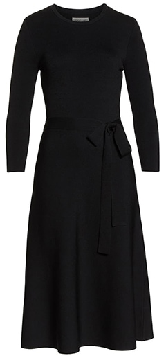 Winteroutfits - Eliza J Fit & Flare Sweater Dress |  40plusstyle.com