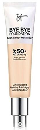 IT Cosmetics Bye Bye Foundation Full Coverage Moisturizer   40plusstyle.com