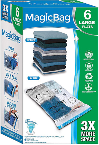 MagicBag Smart Design Instant Space Saver Storage | 40plusstyle.com