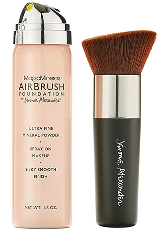 MagicMinerals AirBrush Foundation   40plusstyle.com