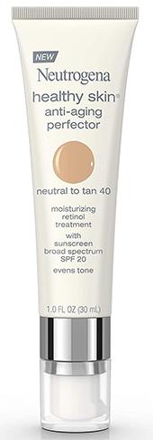Neutrogena Healthy Skin Anti-Aging Perfector Tinted Facial Moisturizer   40plusstyle.com