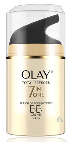 Olay Total Effects Face Moisturizer + Touch of Foundation   40plusstyle.com