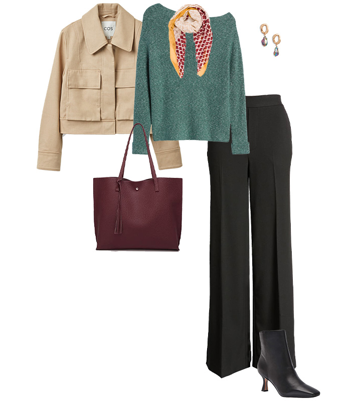 Sweaters for the pear shape | 40plusstyle.com