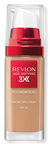 Revlon Age Defying 3X Makeup Foundation   40plusstyle.com