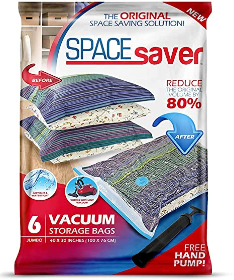 Space saver bags | 40plusstyle.com