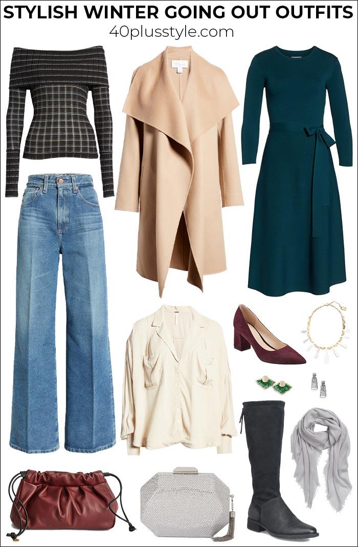 Winteroutfits, die so stylisch sind, dass dir die Kälte nichts ausmacht |  40plusstyle.com