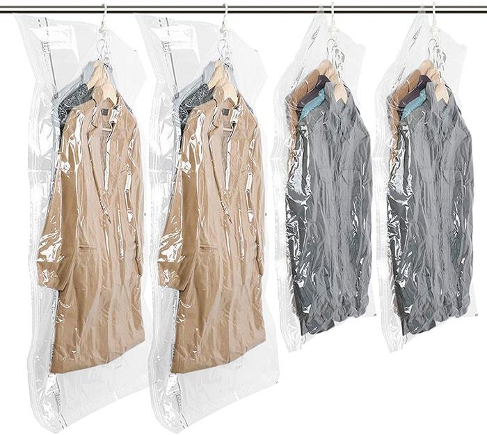 TAILI Hanging Vacuum Space Saver Bags | 40plusstyle.com