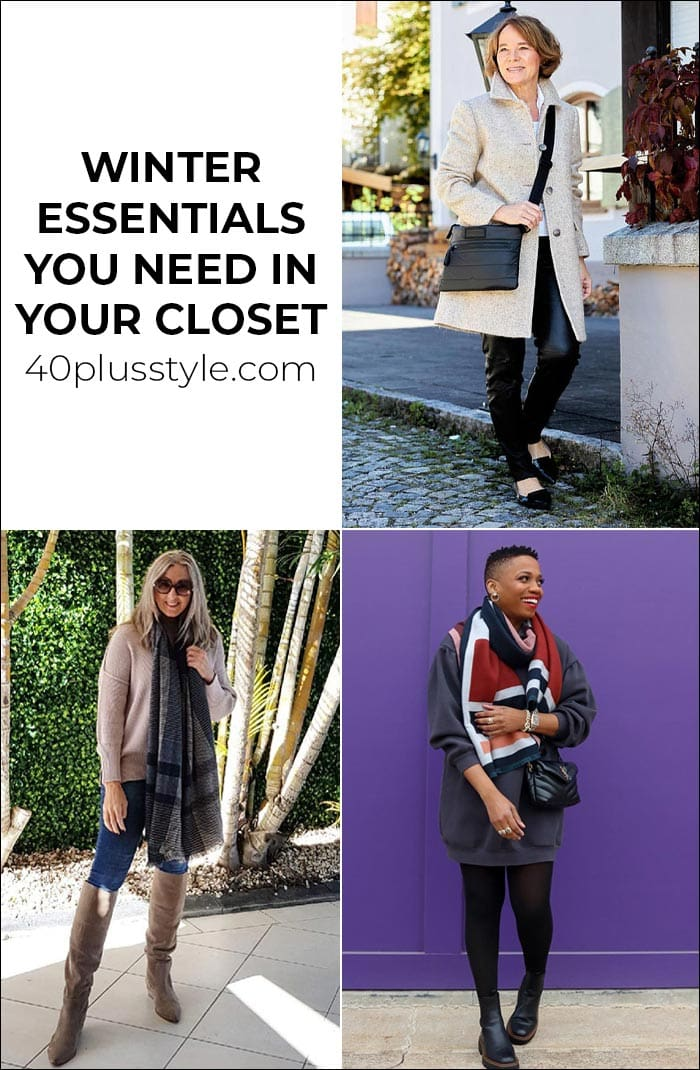 All the 2021 winter essentials you need in your closet this year | 40plusstyle.com